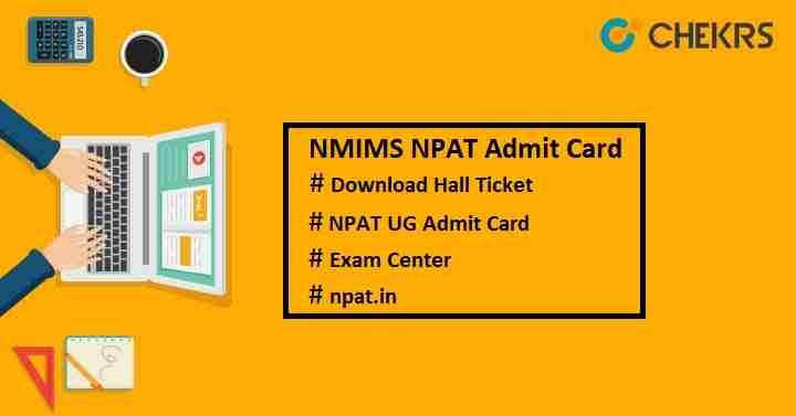 nmims npat admit card