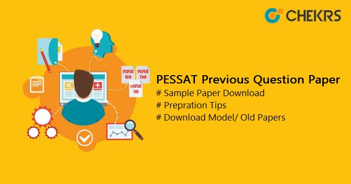 PESSAT Previous Year Question Paper