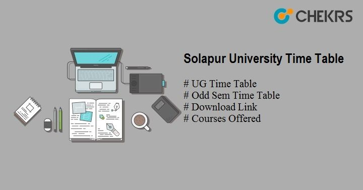 solapur university time table 2020