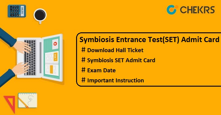 symbiosis admit card