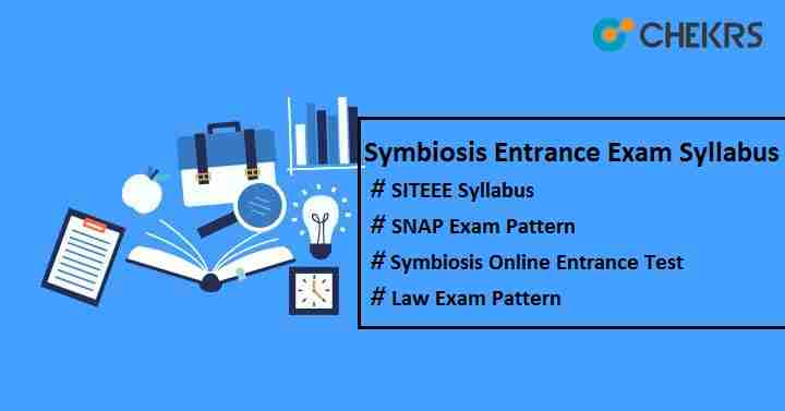 symbiosis entrance exam syllabus