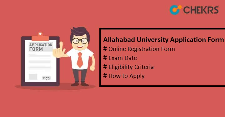 allahabad university application form