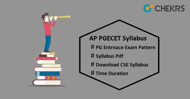 ap pgecet syllabus pdf