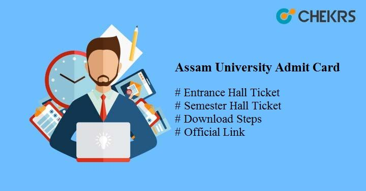 assam university admit card