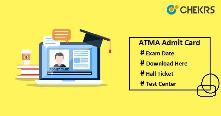 ATMA Admit Card ATMA Hall Ticket