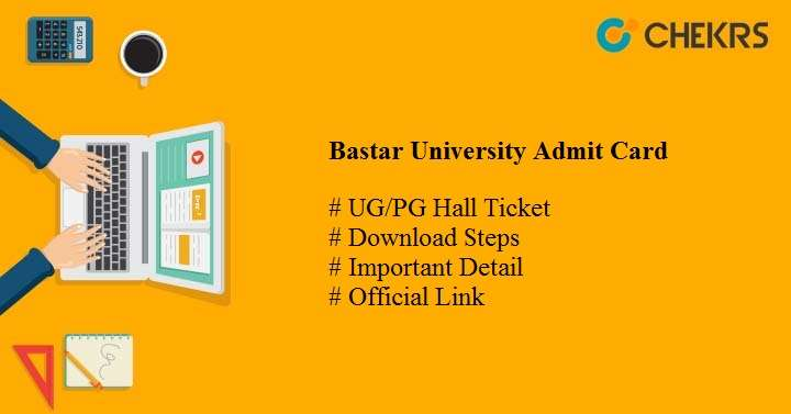 bastar university admit card