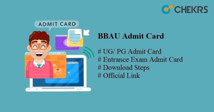 bbau admit card