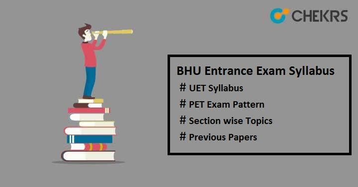 bhu entrance exam syllabus