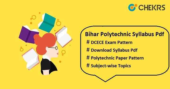 bihar polytechnic syllabus pdf