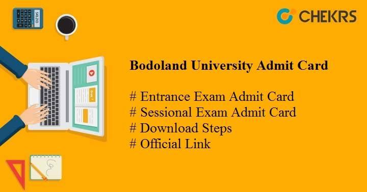 bodoland university admit card