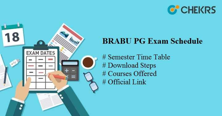 brabu pg exam schedule