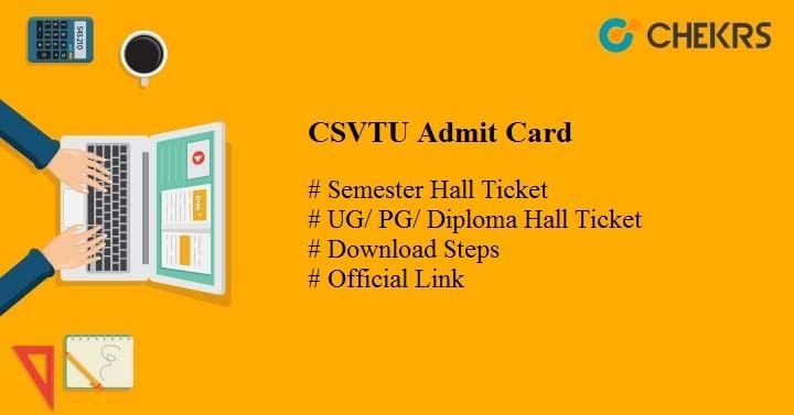 csvtu admit card 2020