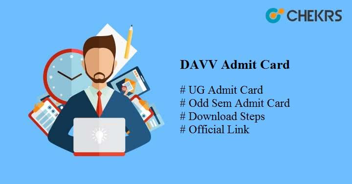 davv admit card