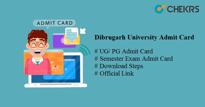 dibrugarh university admit card