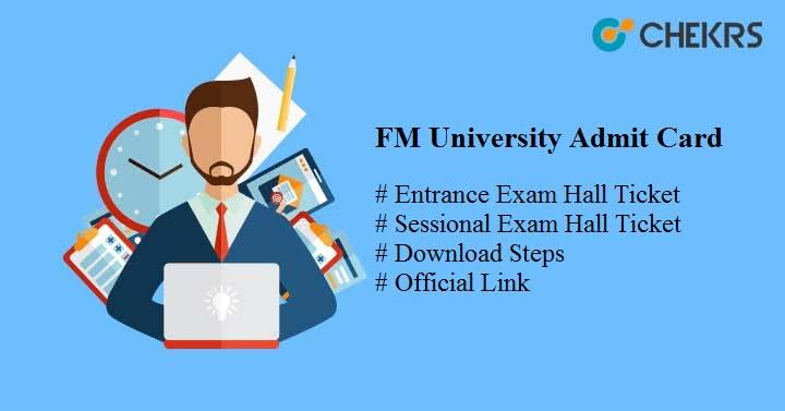 fm university admit card