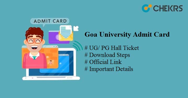 goa university admit card 2020