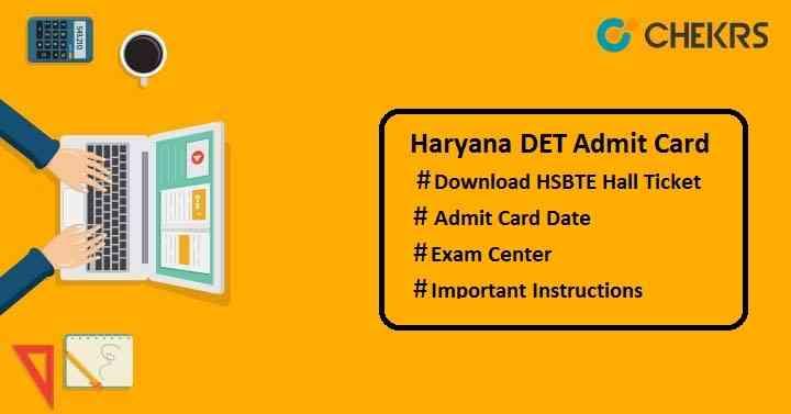 haryana det admit card
