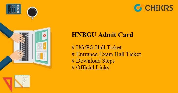 hnbgu admit card