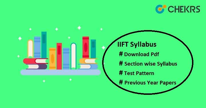 iift syllabus pdf
