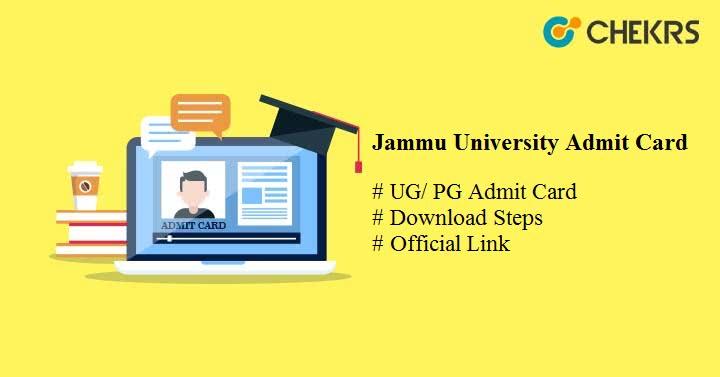 jammu university admit card