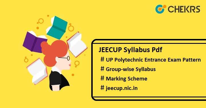 jeecup syllabus pdf