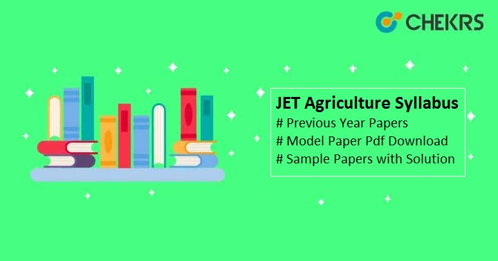 JET Agriculture Syllabus 2021
