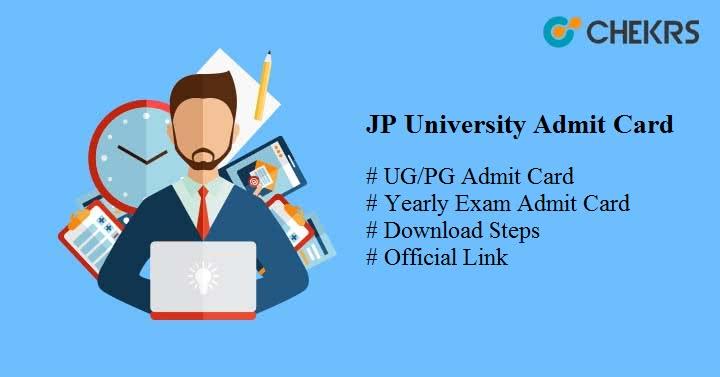 jp university admit card