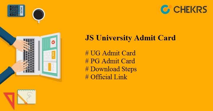 js university admit card
