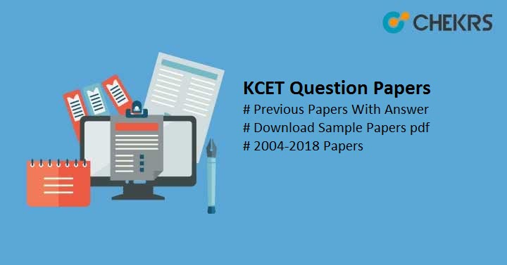 KCET Sample/ Model Papers