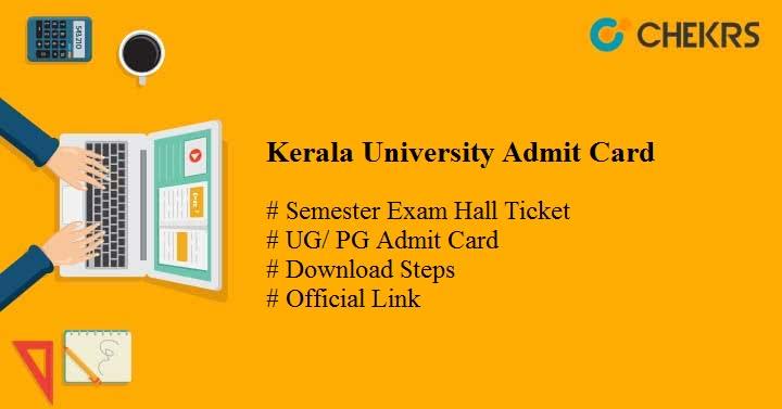 kerala university admit card