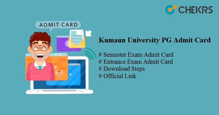 kumaun university pg admit card