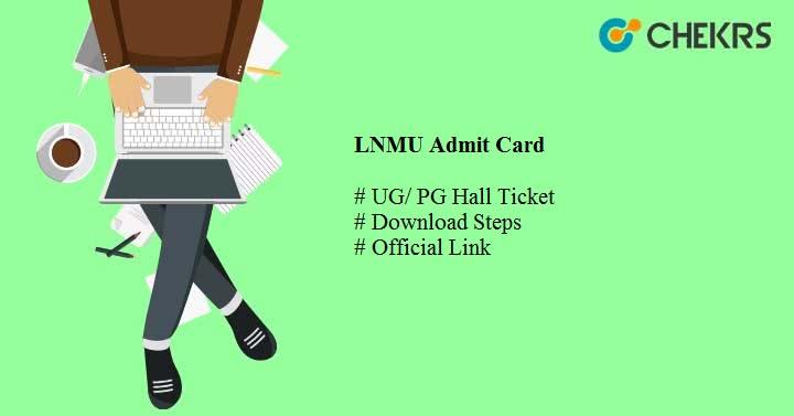 lnmu admit card 2021