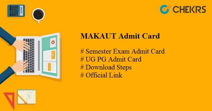 makaut admit card 2021
