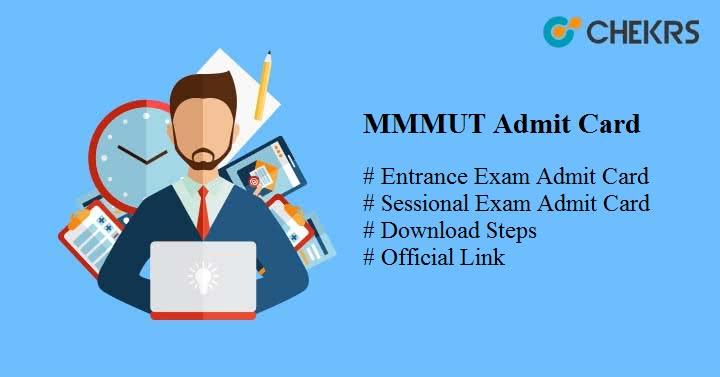 mmmut admit card