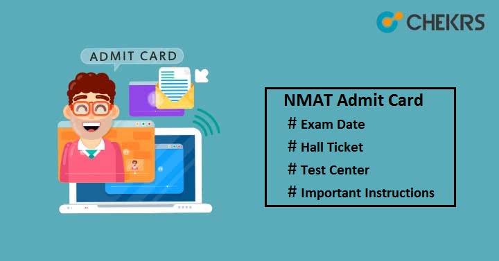 NMAT Admit Card 2020