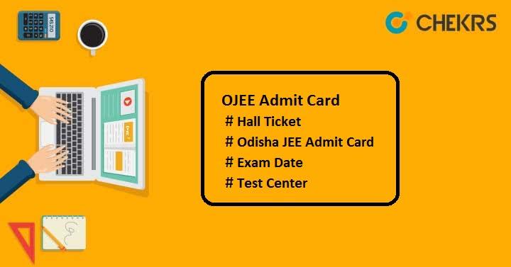ojee admit card