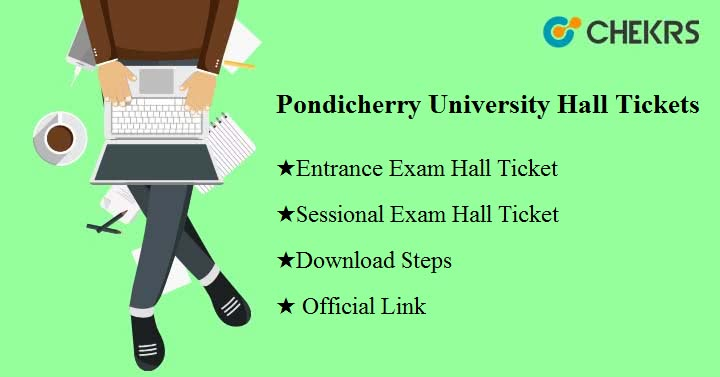pondicherry university hall ticket 2020