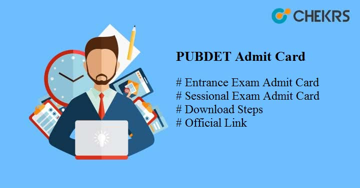 pubdet 2019 admit card