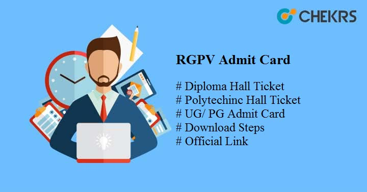 RGPV Admit Card 2019 Download Diploma/ Polytechnic, UG Hallticket