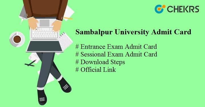 sambalpur university admit card 2018 suniv.ac.in