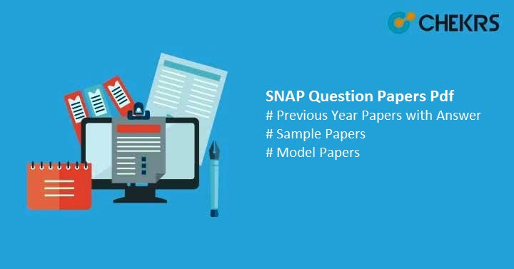 SNAP Question Papers Pdf - Download previous