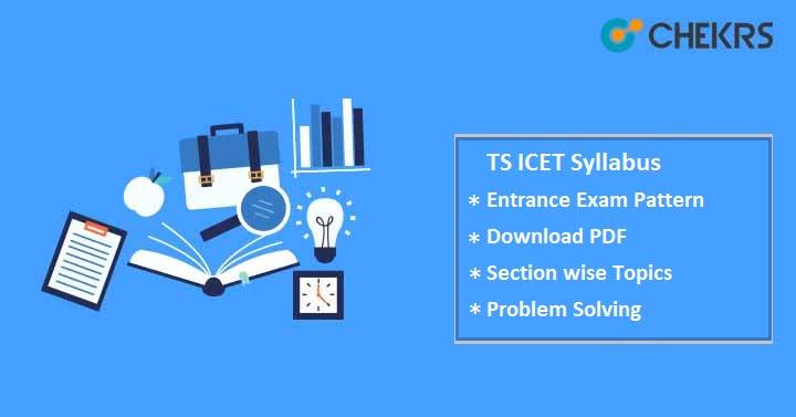 TS ICET Syllabus Pdf Download