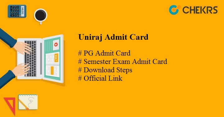 Uniraj PG Admit Card 2020