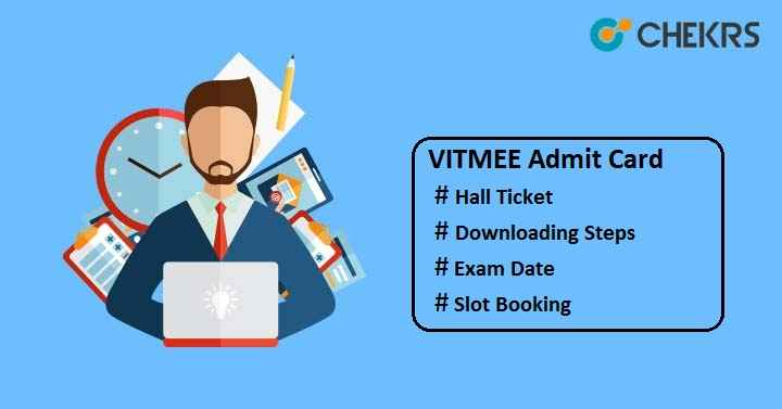 vitmee admit card 2020