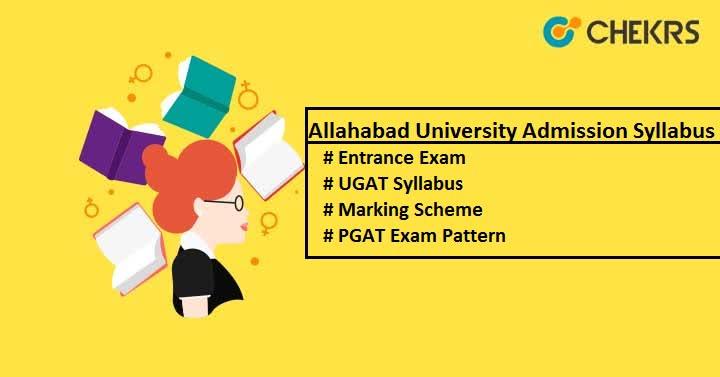 Allahabad University Admission Syllabus