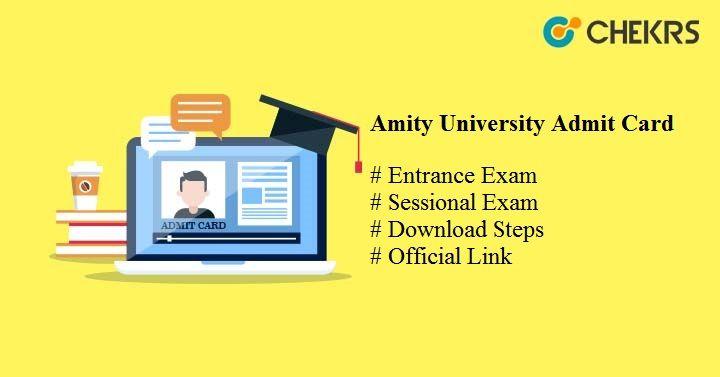 amity university admit card