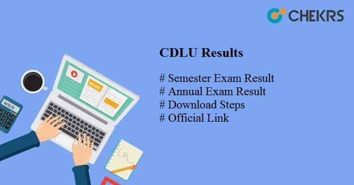 cdlu results cdlu.ac.in