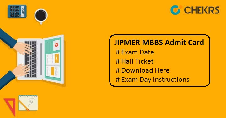 JIPMER MBBS Admit Card 2019 JIPMER Hall Ticket