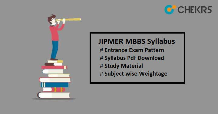 JIPMER MBBS Syllabus JIPMER Exam Pattern