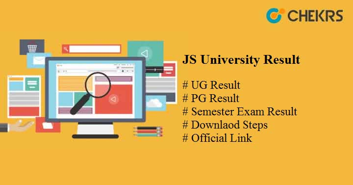JS University Result 2019 - Download jsu edu in UG PG Latest